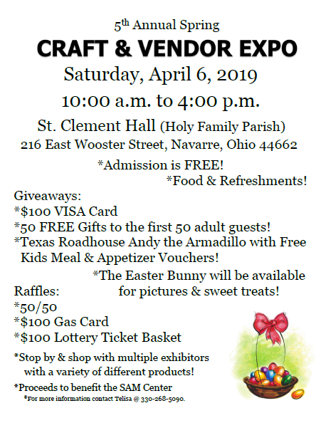 5th Annual Spring Craft & Vendor Expo