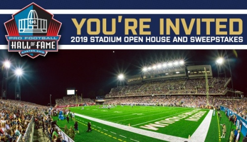 Tom Benson HOF Stadium Open House